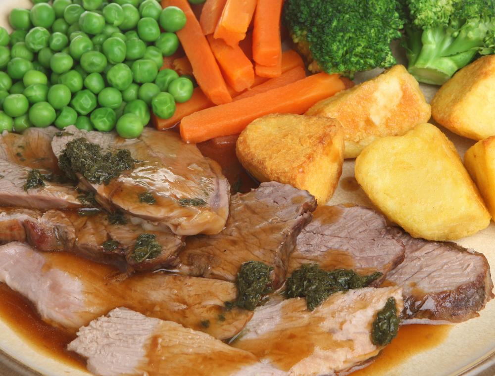 roast lamb gravy 91857059