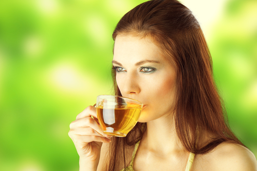 tea drinking 73797856